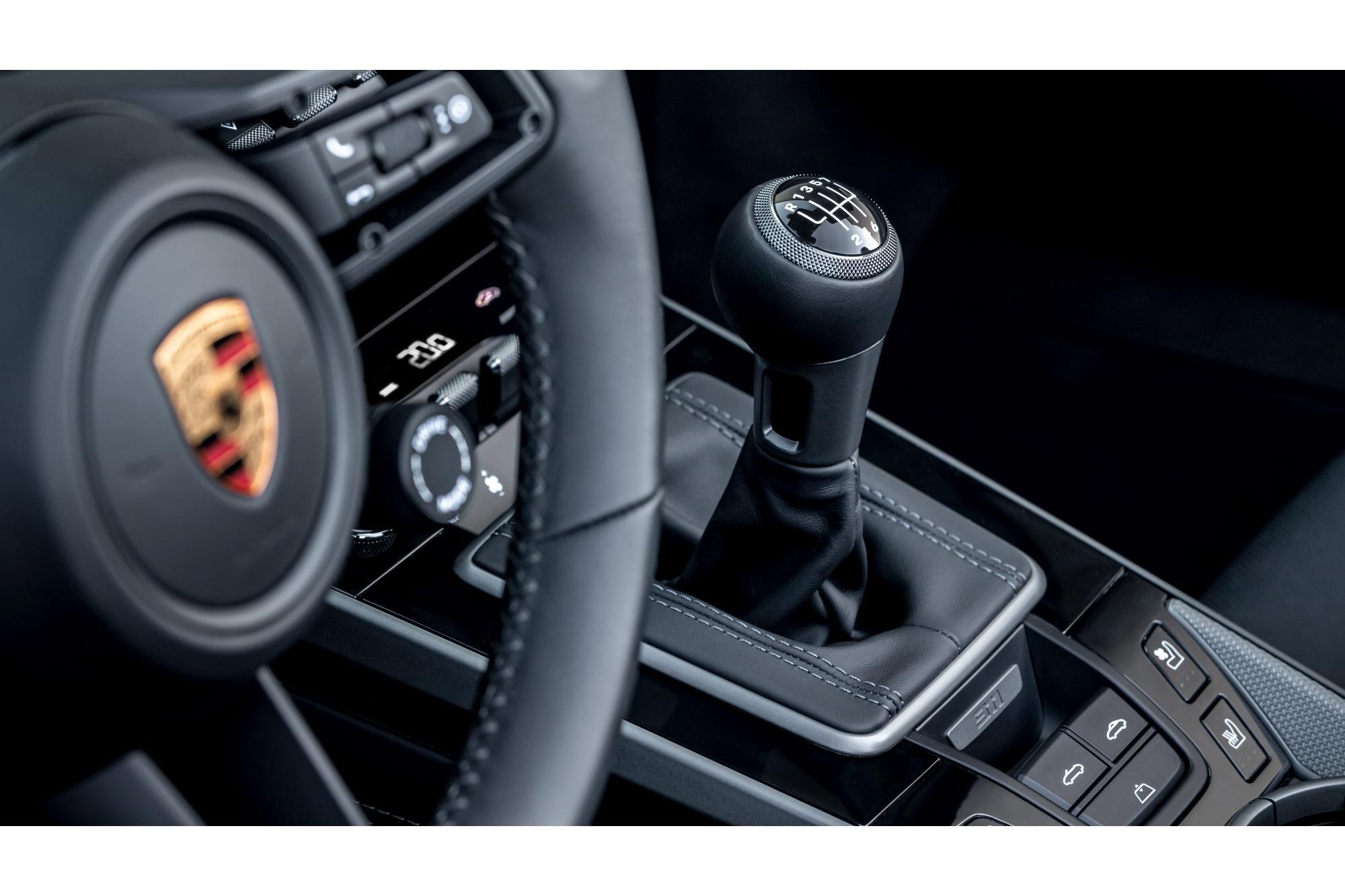 Porsche, λέμε ναι στα χειροκίνητα κιβώτια!