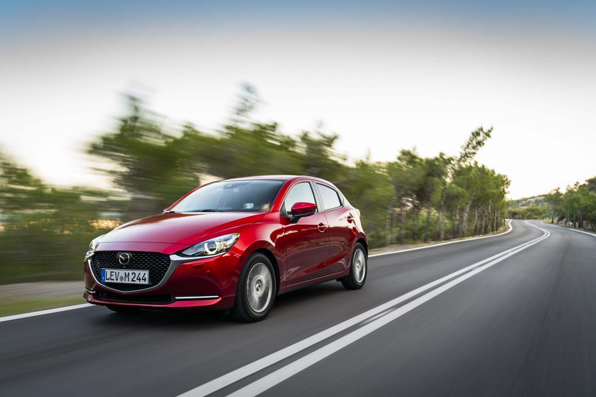 Οδηγούμε στην Ελλάδα το ανανεωμένο Mazda 2