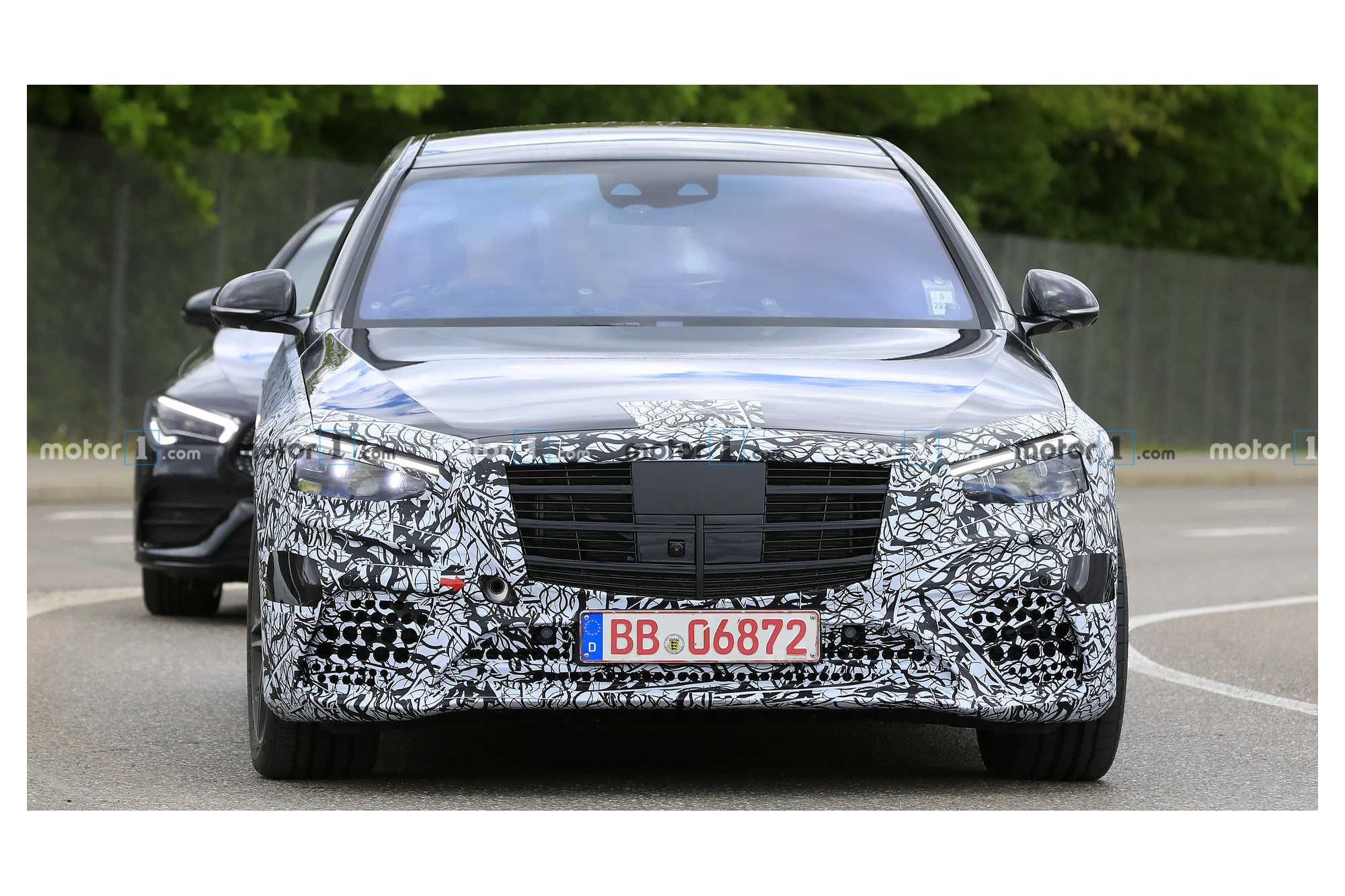Spotted: Mercedes S-Class ΜΥ21