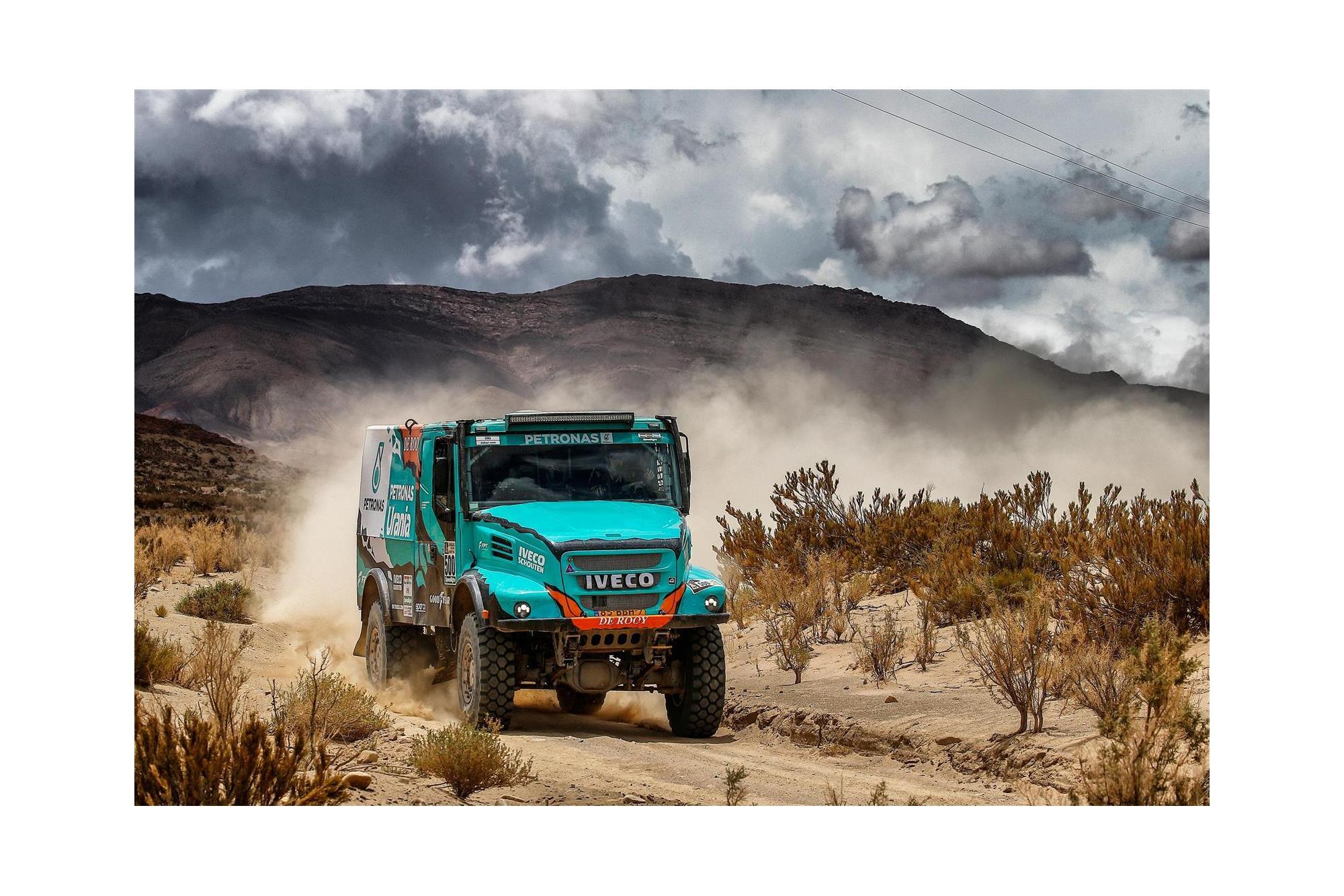 H Goodyear στη pole position για το επερχόμενο Rally Dakar
