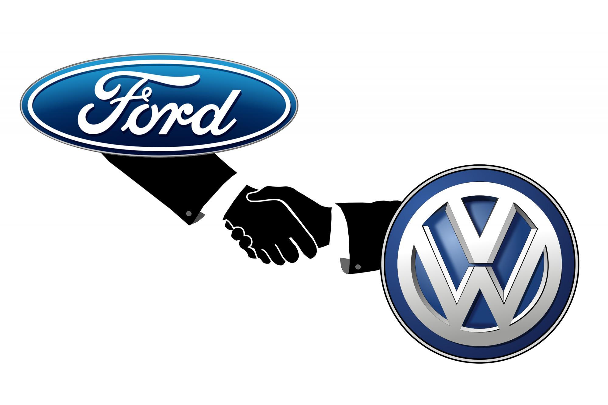 Επίσημη συνεργασία μεταξύ Ford και VW